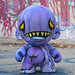 Purple Monster Munny front