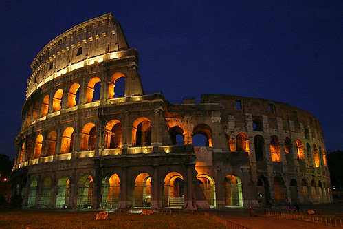 Colosseum at Night, Rome, Italy | by lightmatter