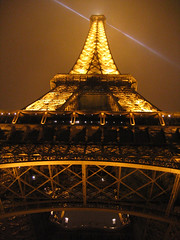 eiffel tower by night | by *heloise*