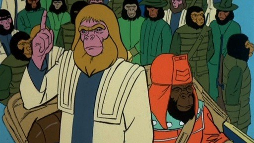 zaius and urko