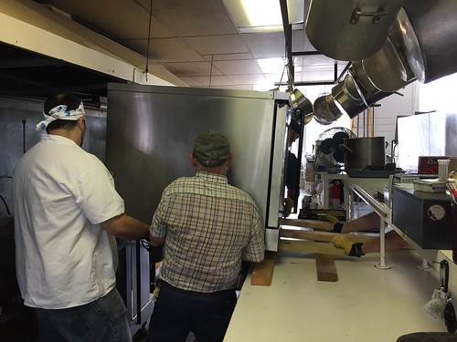 Oven moving