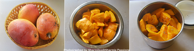 How to make Aamras Recipe - Step1
