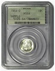 sample coin slab