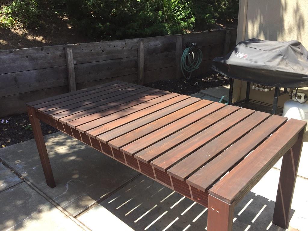 Homemade Patio Table | By Rhv75 Homemade Patio Table | By Rhv75