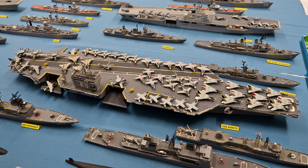 Matchstick Fleet Uss Nimitz By Keith Watson Photography