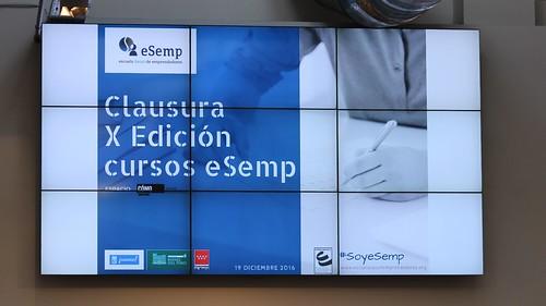 X Edición Clausura cursos eSemp