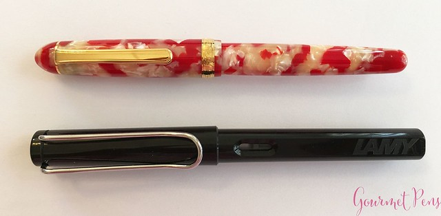 Review Platinum 3776 Celluloid Koi Fountain Pen @AndersonPens @CarolLuxury 4