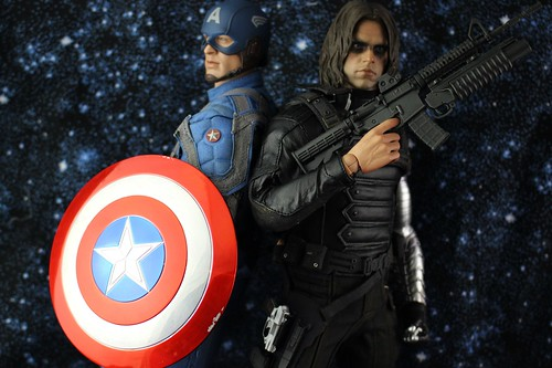 Captain America & Winter Soldier