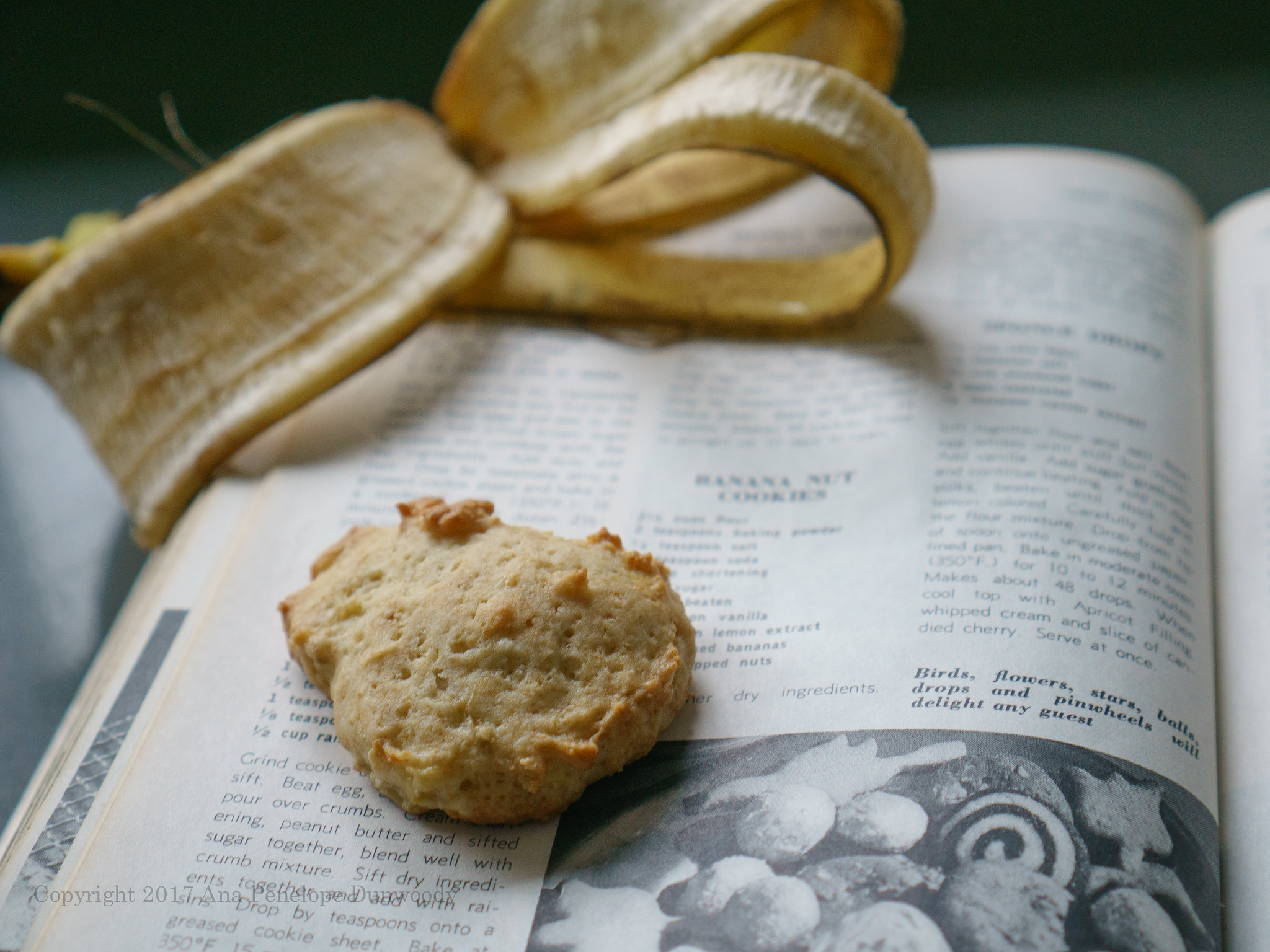 Banana Coconut Cookies #2