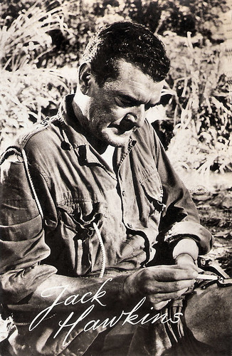 Jack Hawkins in The Bridge on the River Kwai (1957)