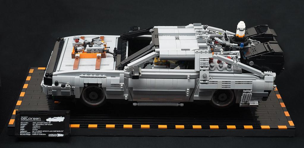 Lego Back To The Future Delorean Delorean Of Movie