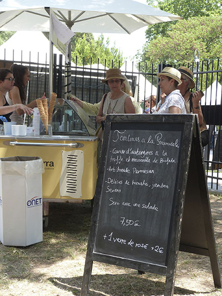 tartines a la provençale