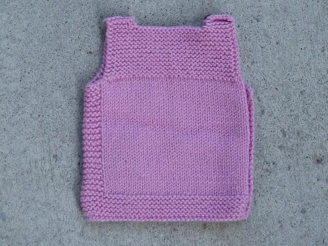 Baby Vest in Pink