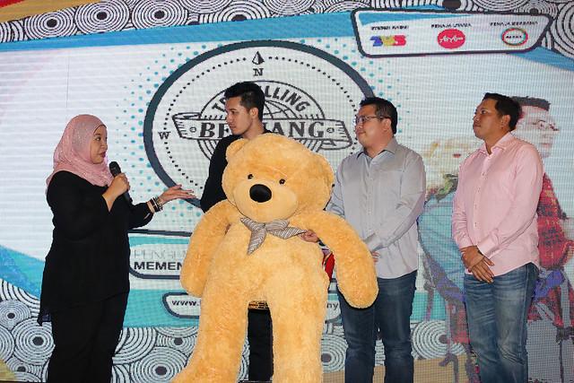 Tv3, Airasia Dan Altel Berkongsi  Tentang Penglibatan Mereka Dalam Kemepen Travelling Beruang