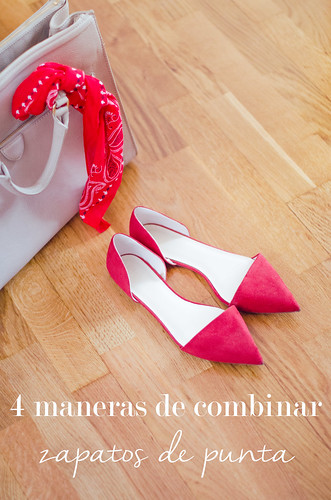 4 maneras de combinar zapatos de punta