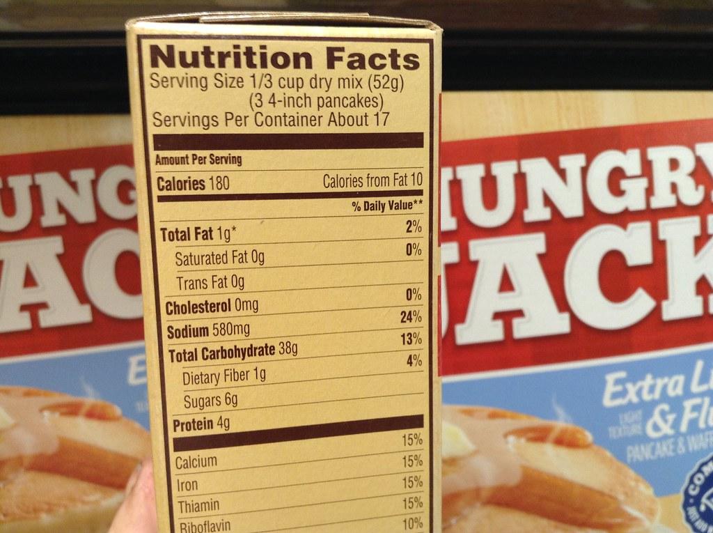 Hungry Jack Pancake Mix Nutrition Pancake Mix Hungry Jack Mtm