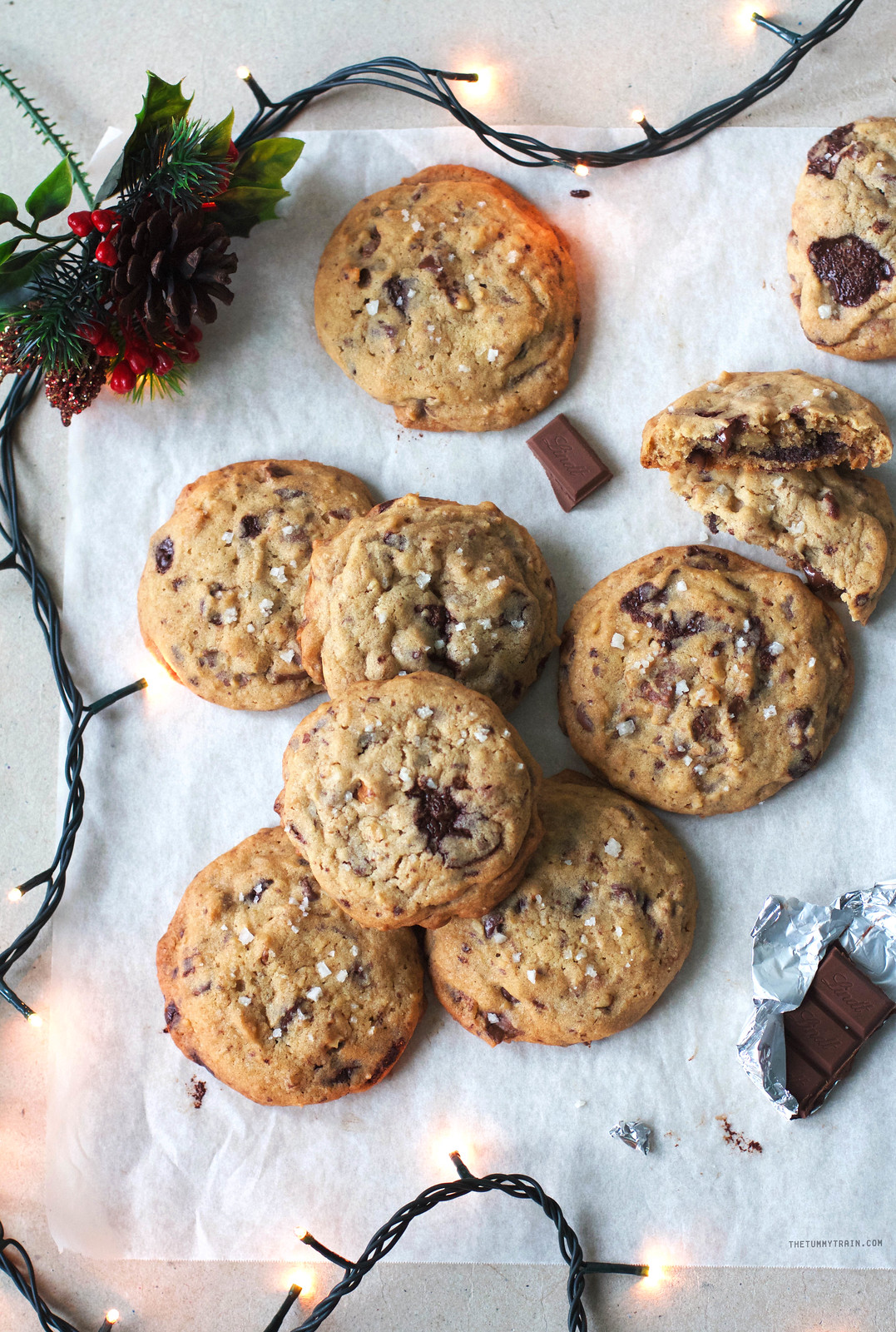 31048100884 f843cd2e33 h - A bit of holiday indulgence with these Triple Chocolate Chunk Cookies