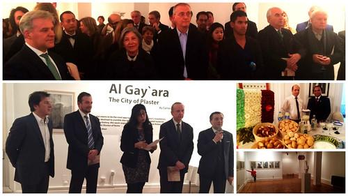 Exitosa exhibición de artista mexicano en El Cairo