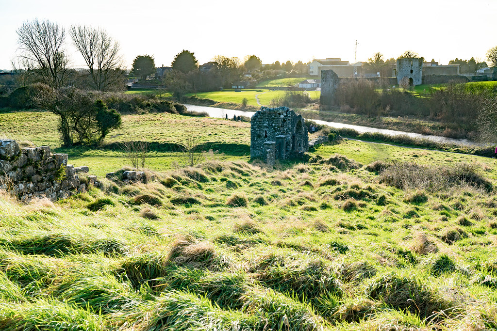 THE SHEEP GATE WAS PART OF THE WALLS OF TRIM [THERE WERE O ...
