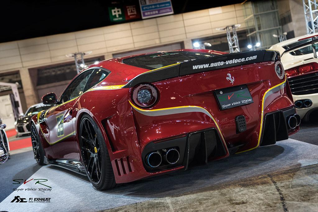 Svr Ferrari F12 Berlinetta With Fi Exhaust In Tokyo Auto S Flickr
