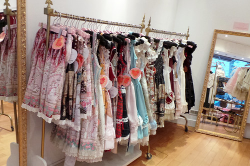 Dresses on Display