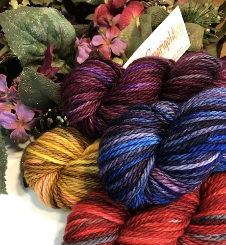 MarigoldJen Hand Dyed Yarns 1