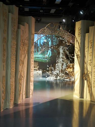 Roald Dahl - Paper Installation - 1