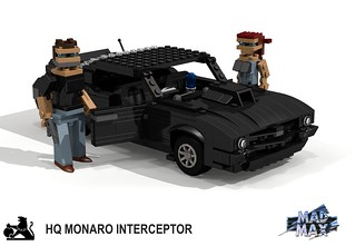 Holden HQ Monaro MFP Interceptor (Mad Max)