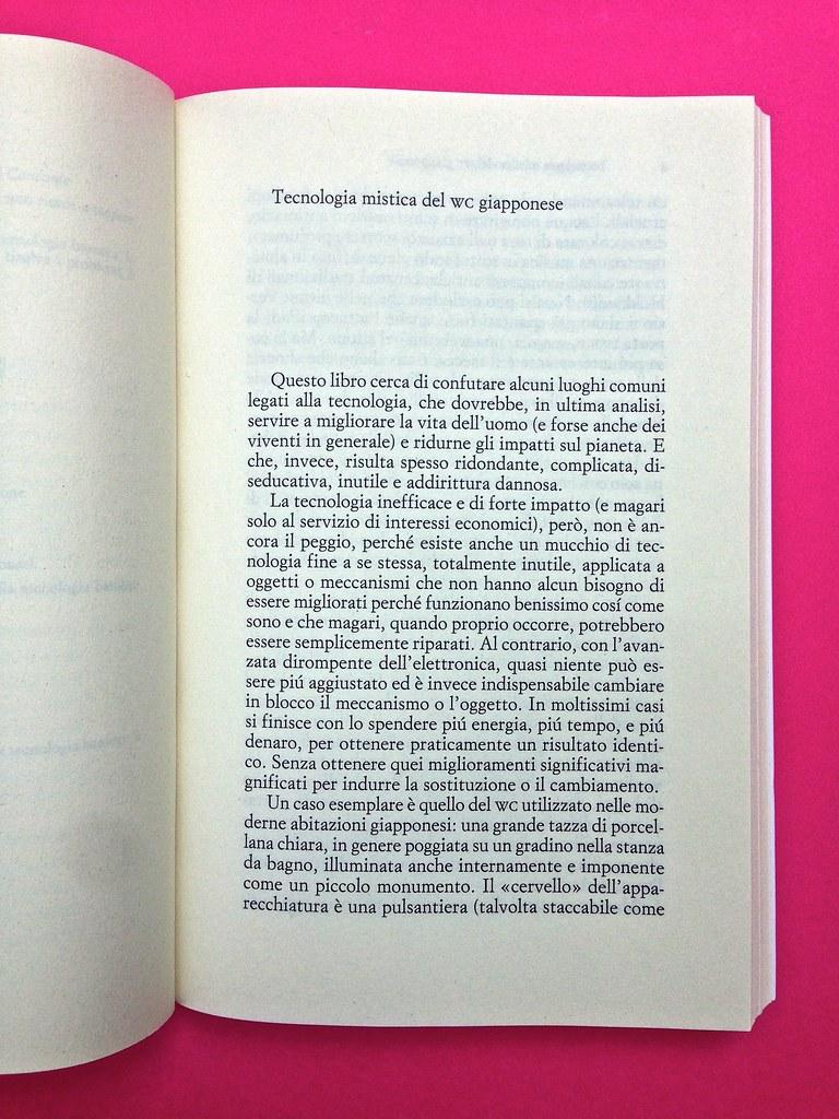 Mario Tozzi, Tecnobarocco. Einaudi 2015. Responsabilità grafica non indicata [Marco Pennisi]. Incipit, a pag. 3 (part.), 1