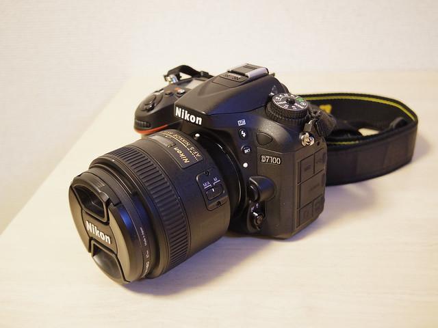 AF-S NIKKOR 85mm f/1.8GをD7100に装着