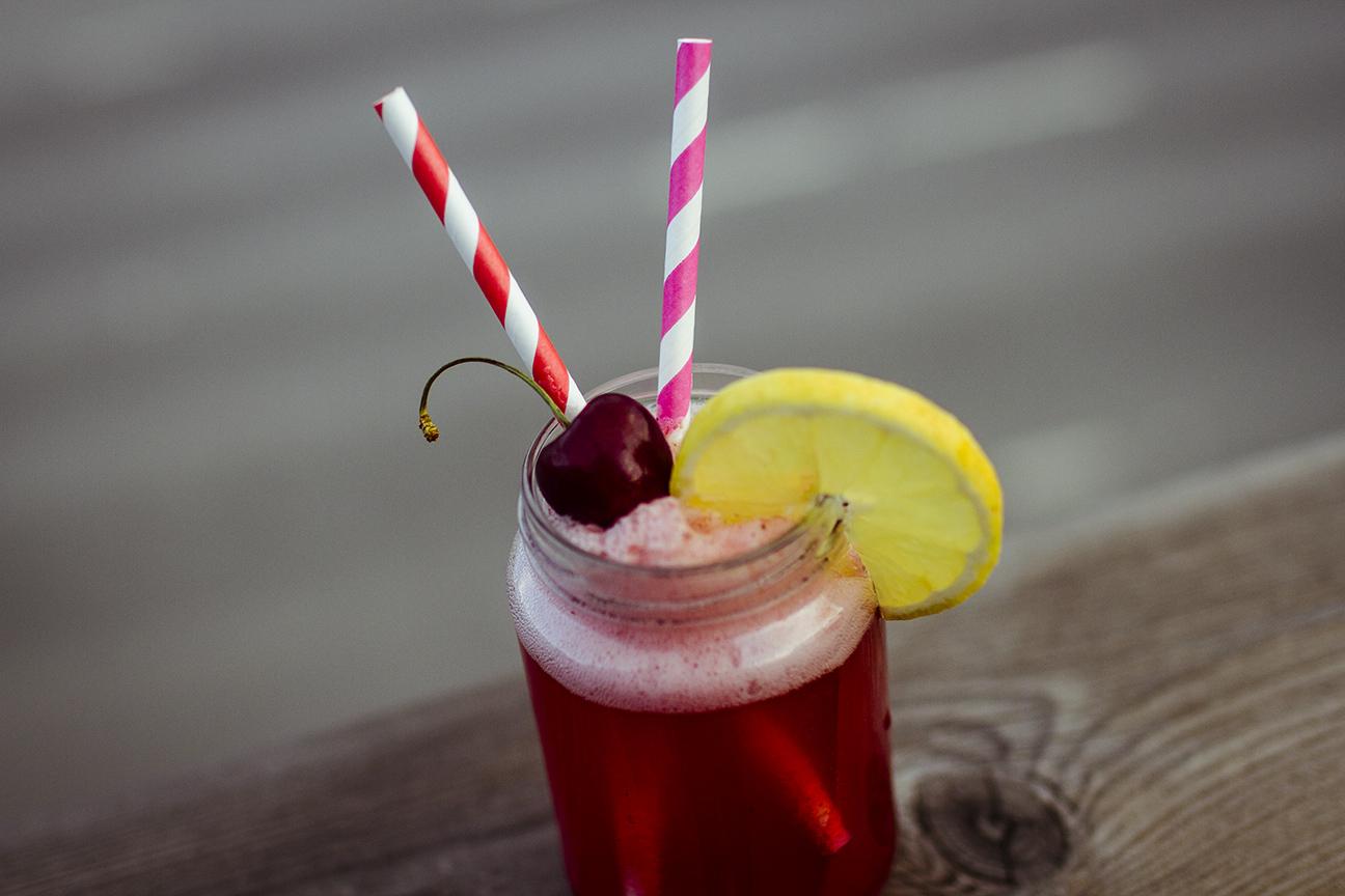 Cherry lemonade www.traningsgladje.se