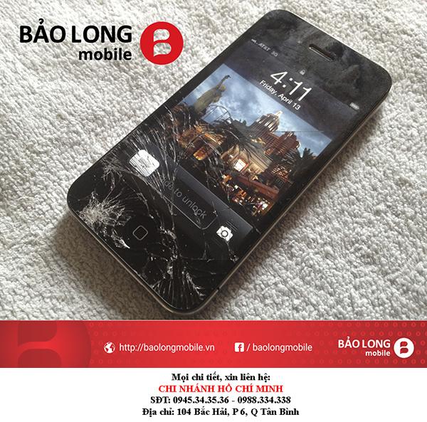 Giới thiệu về giá cả của một vài chỗ giải quyết lỗi về mặt kính iPhone 4 ở trong SG