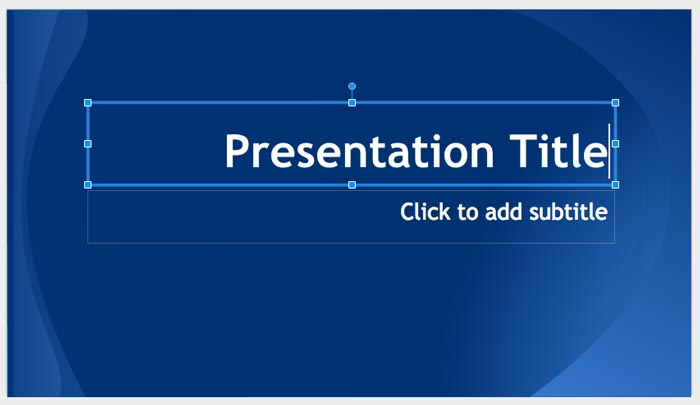 How to create powerpoint presentation step 6