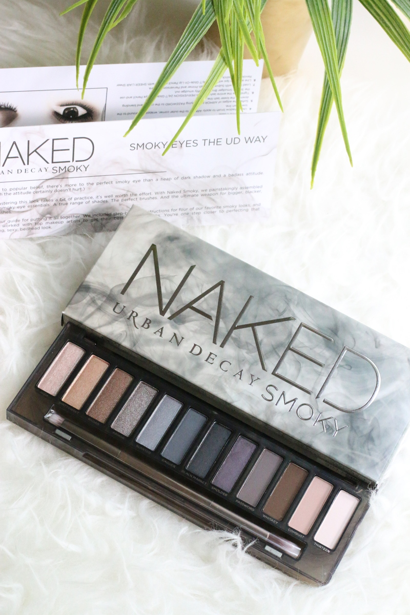 Urban Decay Naked Smoky Palette Review Evening Summer Look Eyeshadow Eye Shadow