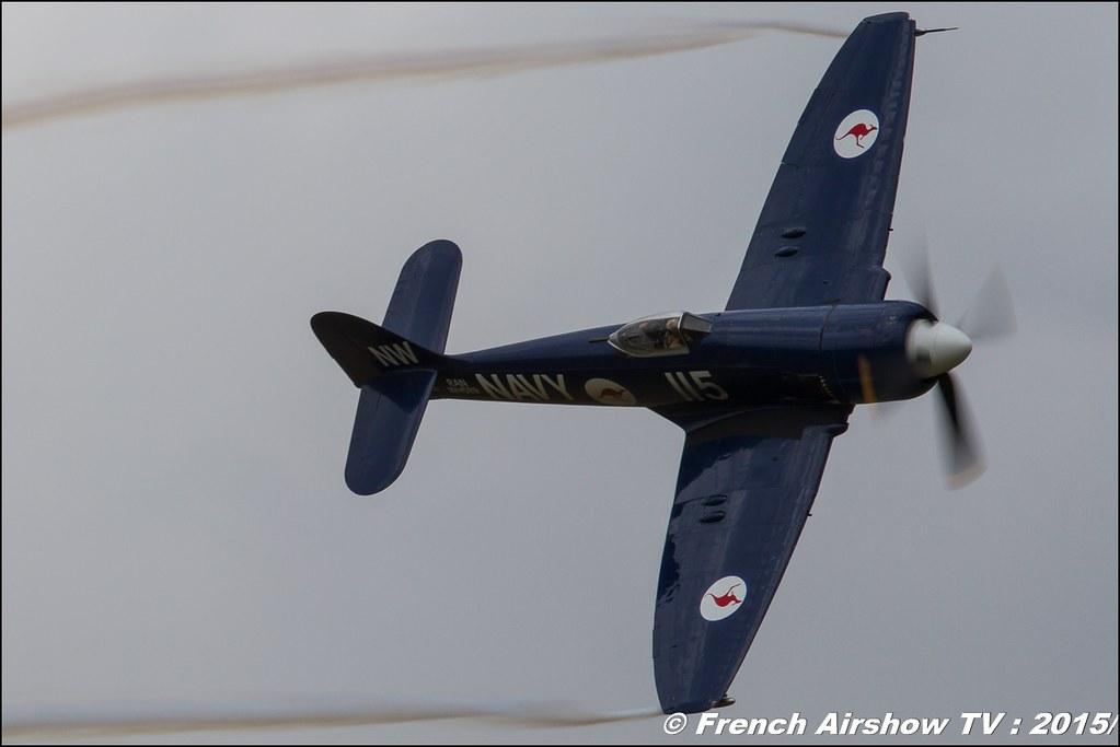 Sea Fury ,HAWKER SEA FURY FB MK11 - F-AZXJ, Christophe Jacquard , BA-116 Luxeuil 2016 , Meeting de l'air luxeuil, Meeting Aerien 2015