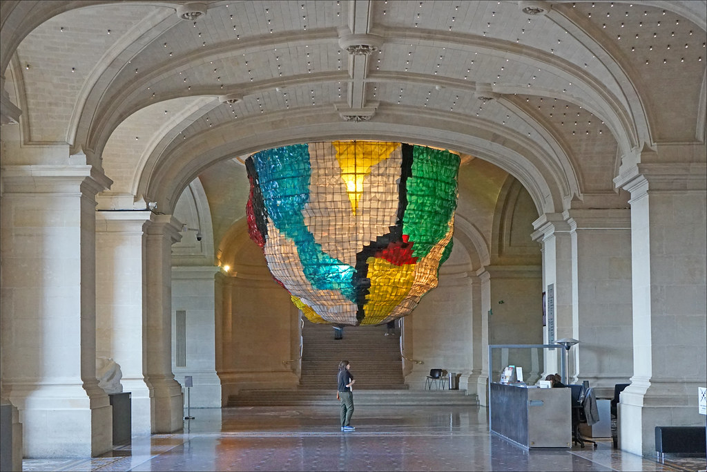 Le Hall D Accueil Du Mus 233 E Des Beaux Arts De Lille Flickr
