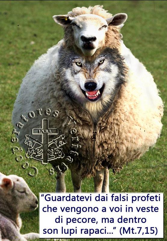 Stare In Guardia Dai Lupi Travestiti Da Agnelli Difendere La Vera Fede