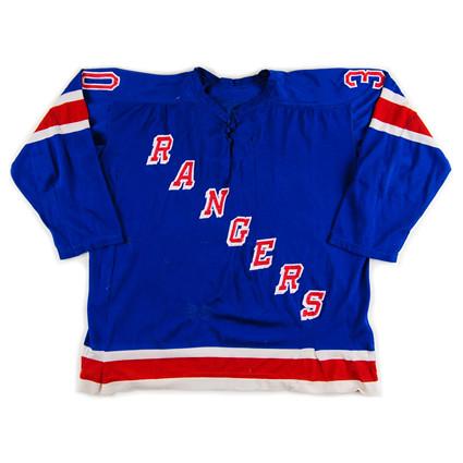New York Rangers 1969-70 F jersey