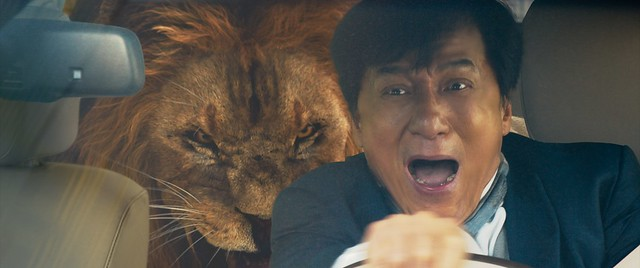 Kungfu Yoga Jackie Chan with Lion