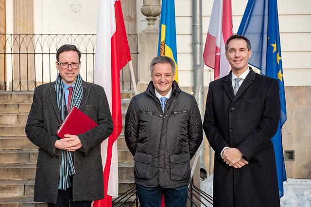 Visit of Mr Gilbert SABOYA SUNYÉ, Minister of Foreign Affairs of Andorra.13 February 2017
