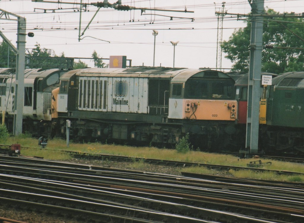 """... Withdrawn Mainline Freight Class 58, 58022 
