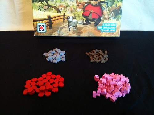012 - Imperial Settlers Wooden Tokens