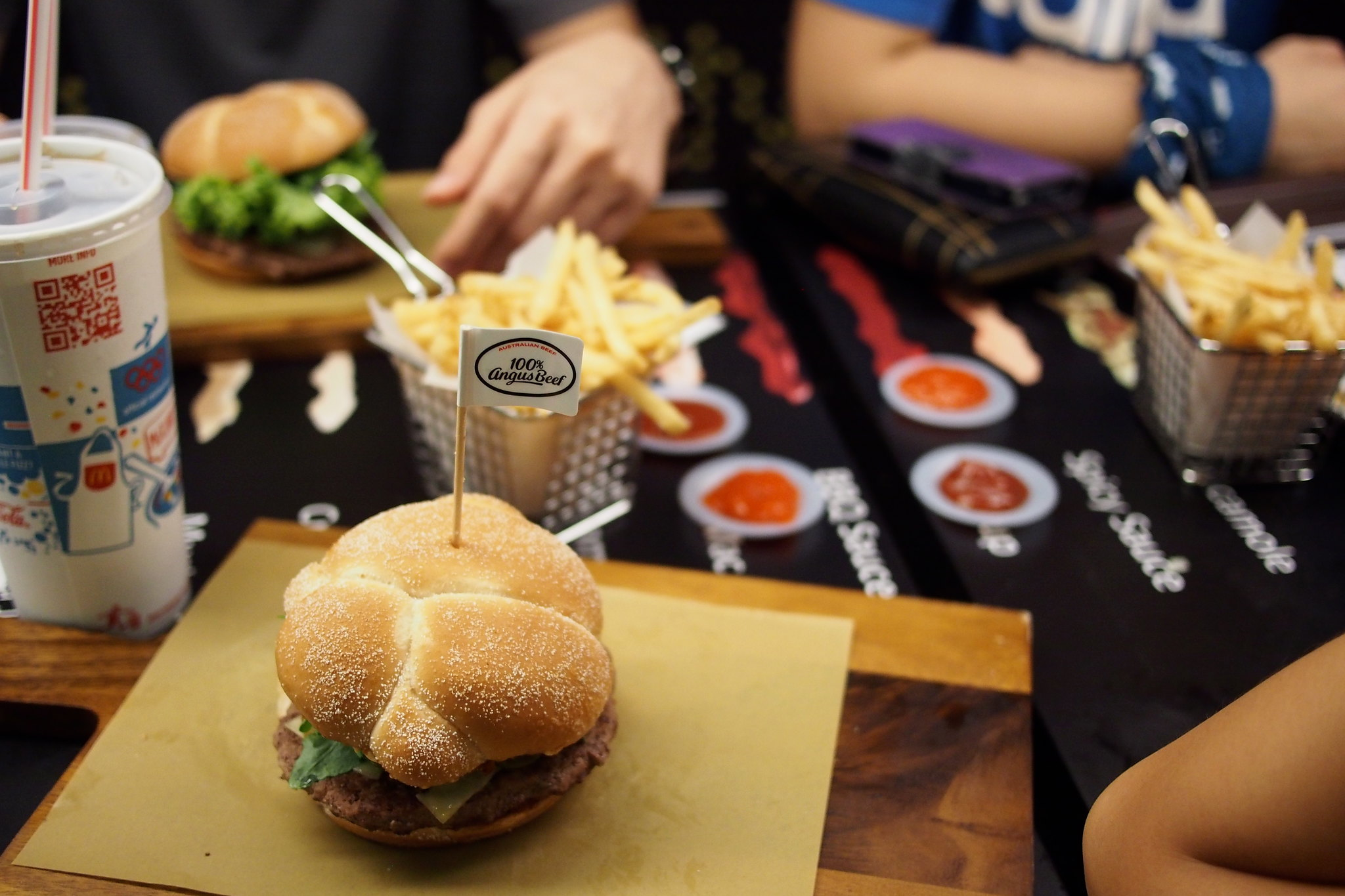 McDonald's, Rafflest City, Singapore - Create Your Own Taste Burger