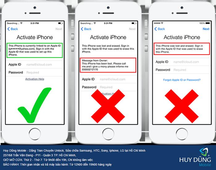 Người tiêu dùng đã bị lừa vì những nơi bẻ khóa iCloud iPhone, iPad có liền ở trong TP.HCM ra sao?