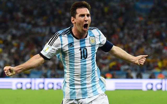 Argentina sai atr�s, mas reage no fim e empata amistoso com o M�xico