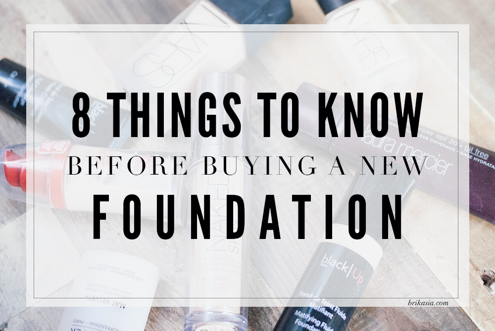 8 Things To Know Before Buying A New Foundation, how to get the right foundation match, what to do before buying foundation, foundation makeup help, how to find skin undertones
