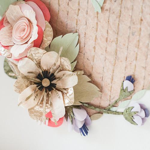 Floral Heartbeat by Tara Galuska - Detail