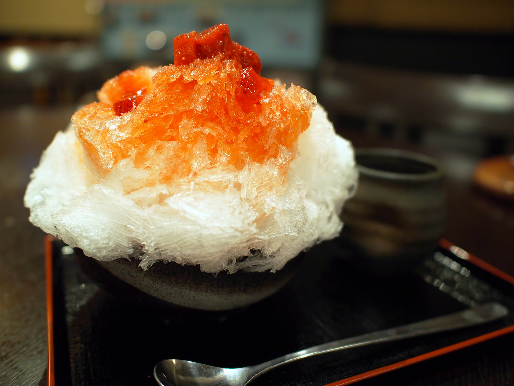Japanese Ice Shaved Dessert