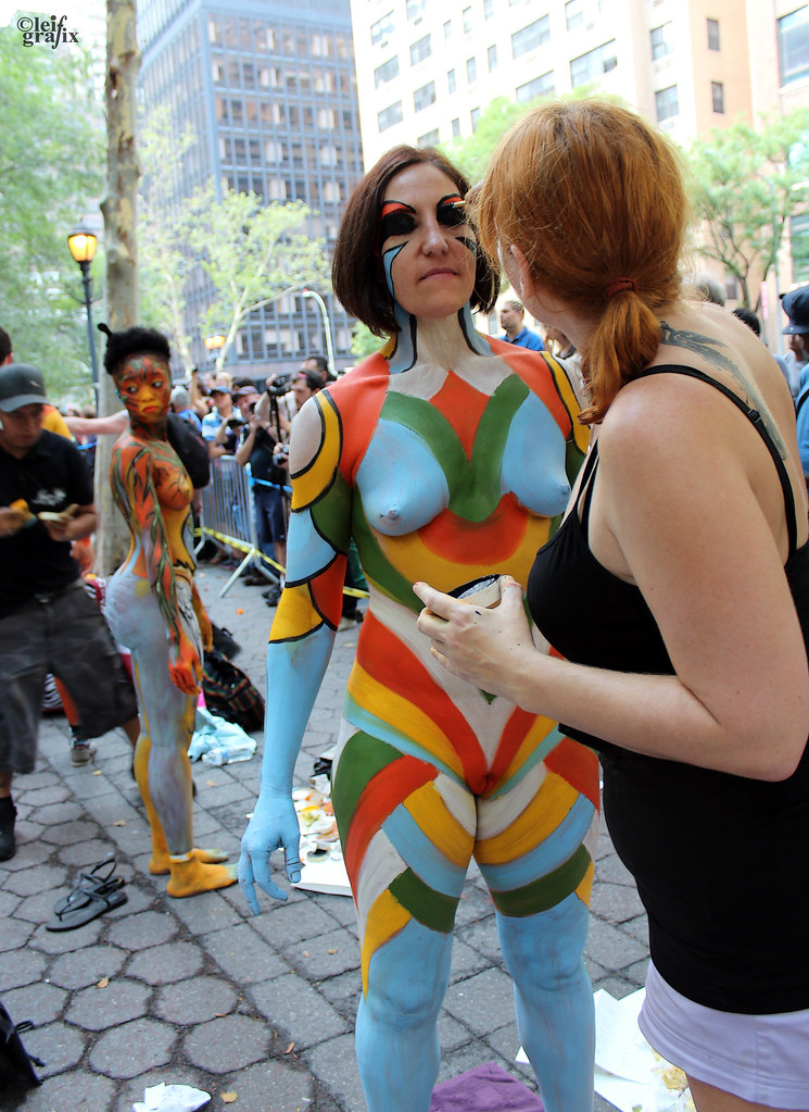 Body Painting Day Nyc