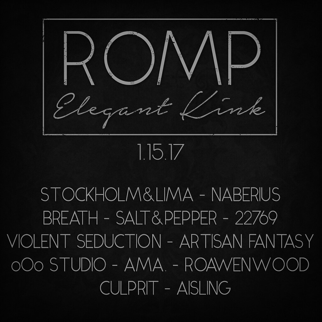 soon...ROMP january 2017